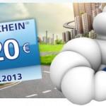 Michelin Motorrad-Tankgutschein 2013