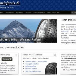 Reifentiefpreis24 bei Reifentiefpreis.de