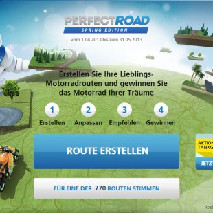 MICHELIN - Perfect Road Aktion