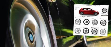 Felgenkonfigurator bei Reifentiefpreis