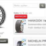 Bestseller für Reifengrößen